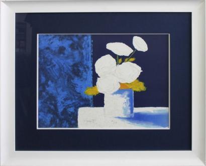 Patrick Reault-Vase fleuri-