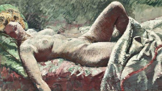 Paul Ayshford Lord Methuen - Reclining nude, Image via Christies