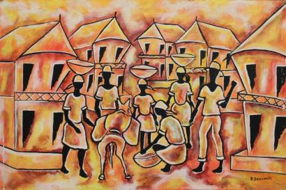 Paul Beauvoir-Les marchandes-