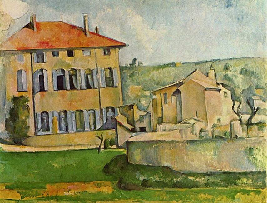 Paul Cézanne - Jas de Bouffan, 1885