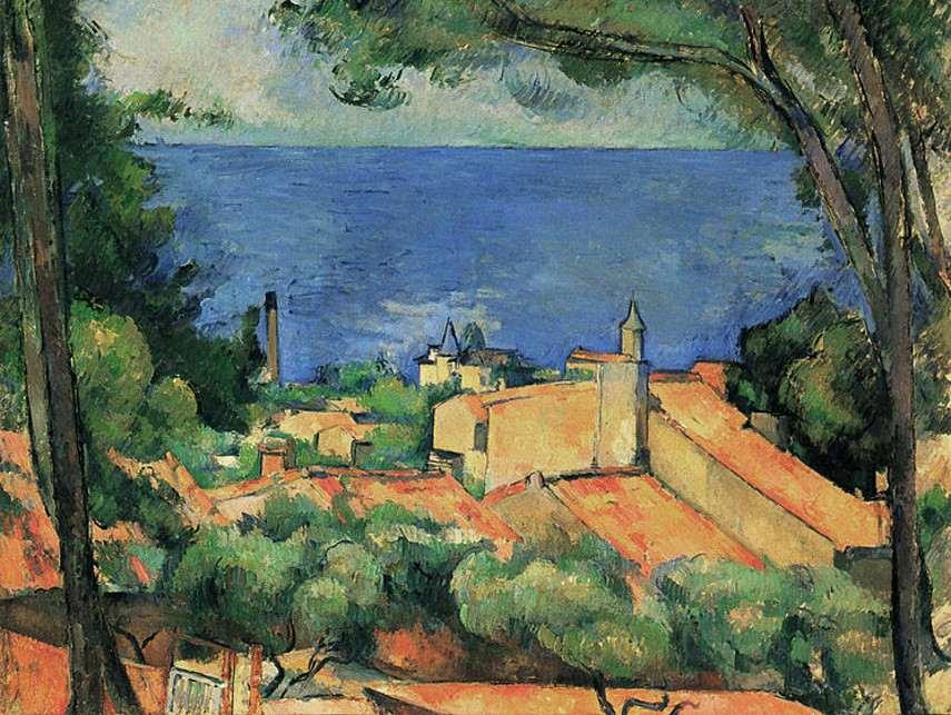 Paul Cézanne - L'Estaque, 1883