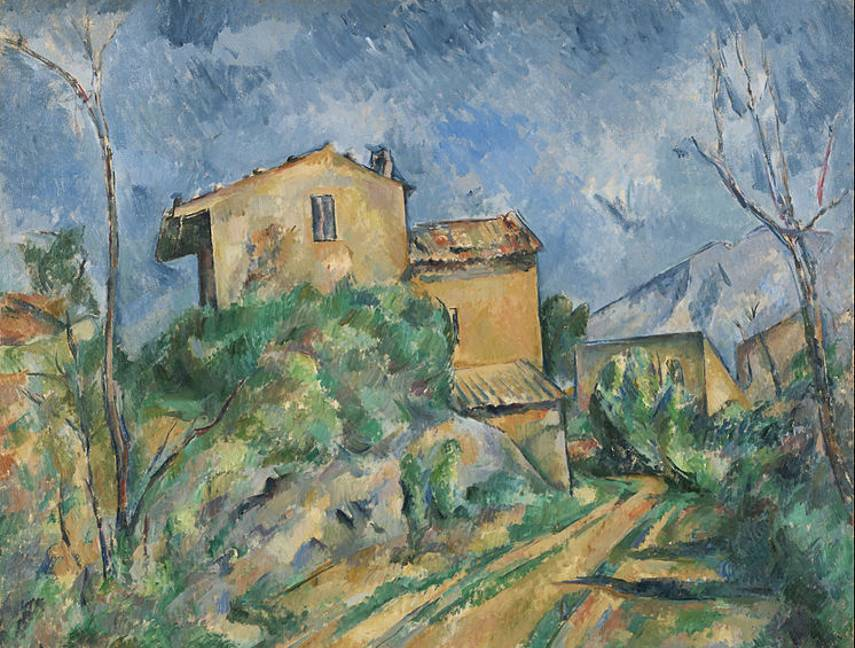 Paul Cézanne - Maison Maria with a View of Château Noir, 1895