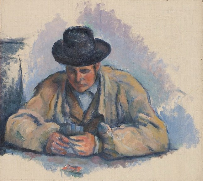 Paul Cézanne - Study for The Card Players