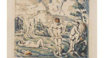 Paul Cézanne - The Bathers