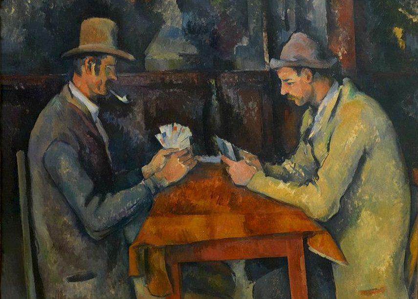 Paul Cézanne - The Card Players, 1892