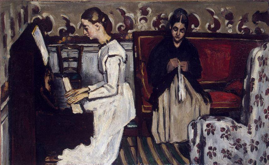 Paul Cézanne - The Overture , 1868
