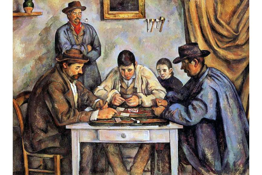Paul Cezanne - Card Players Barnes Foundation