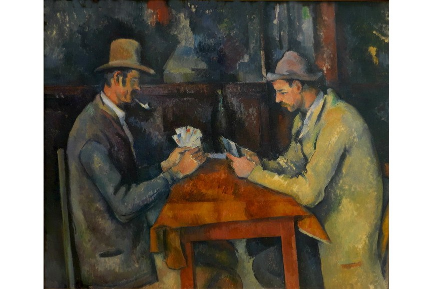 Paul Cezanne - Card Players Courtauld Institute of Art