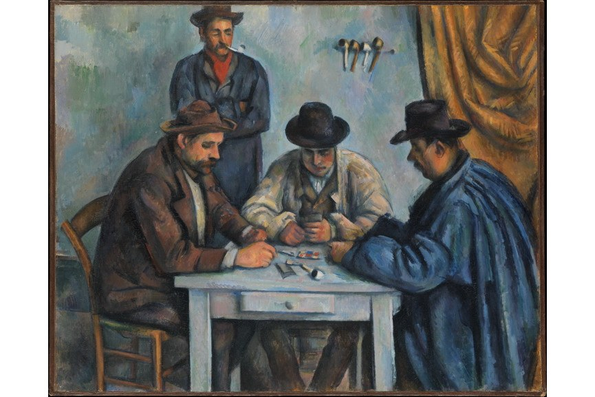 Paul Cezanne - Card Players Metropolitan Museum of Art
