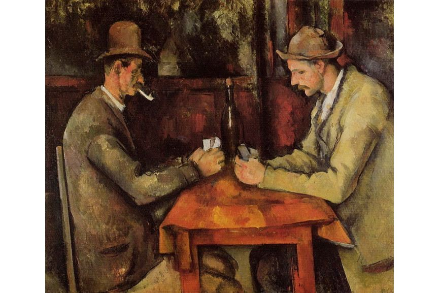Paul Cezanne - Card Players Musee d Orsay