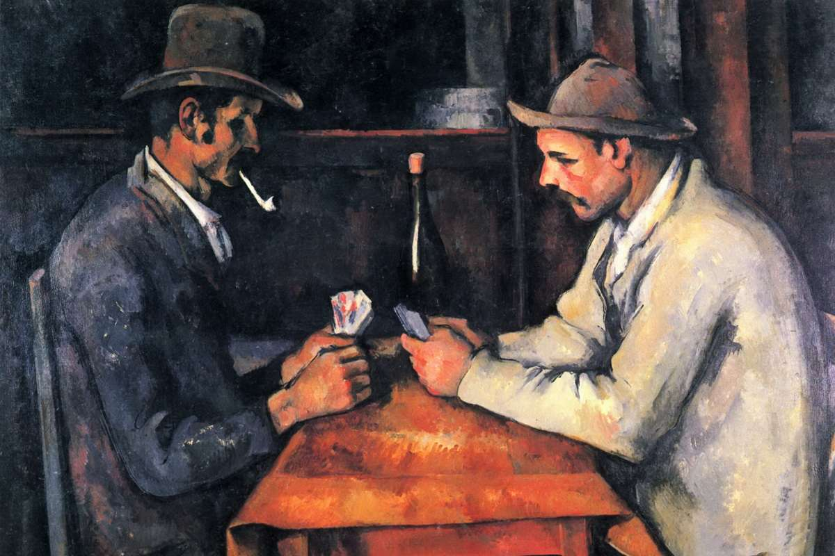 Paul Cezanne - Card Players Private collection