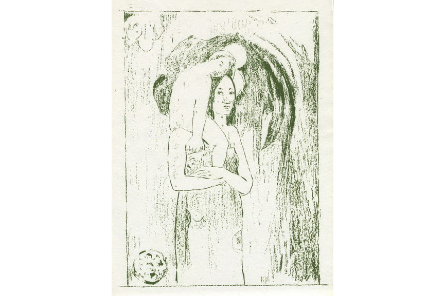 Paul Gauguin - La Orana Maria