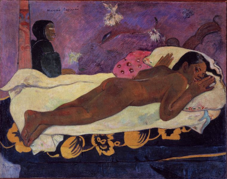 Paul Gauguin - Spirit of the Dead Watching, 1892