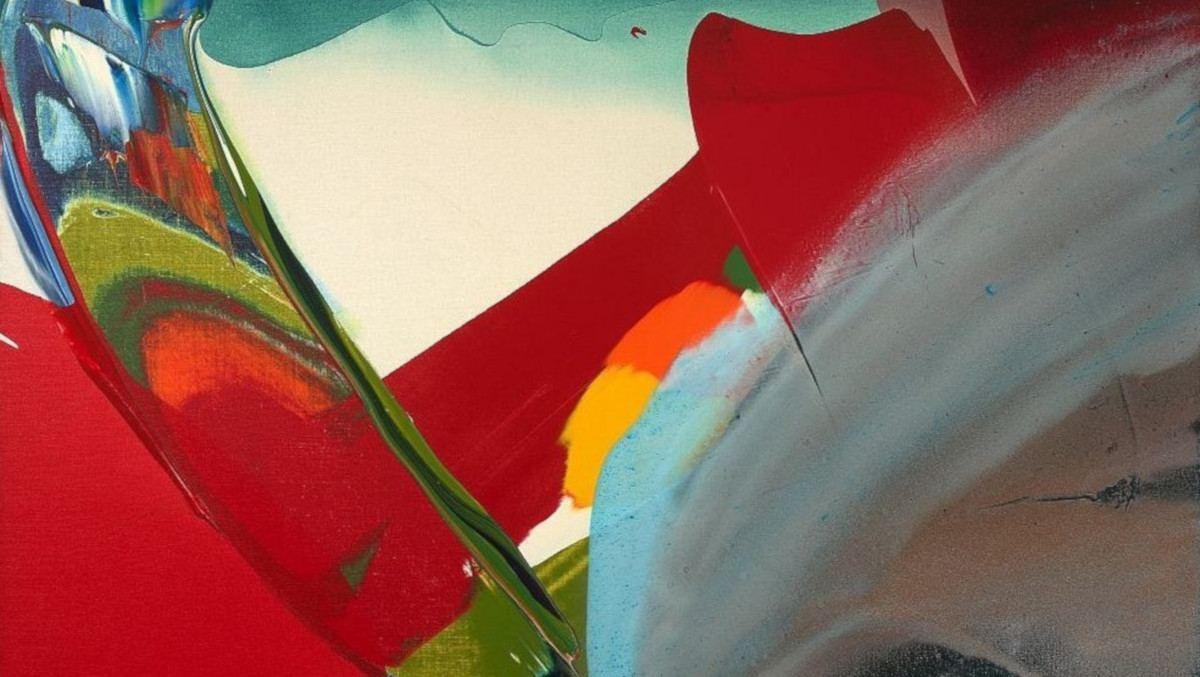 Paul Jenkins - Phenomena Cardinal Winds, 1982 (detail)