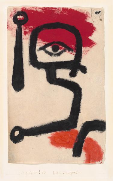 Paul Klee - Kettledrummer, 1940