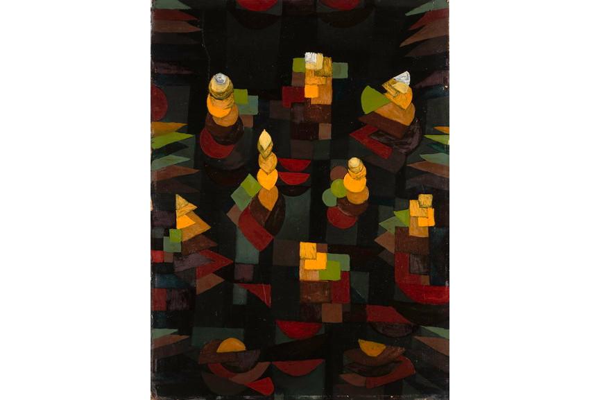 Paul Klee - Pflanzenwachstum