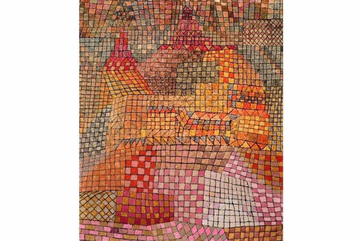 Paul Klee - Stadtburg KR. (Town Castle KR.)