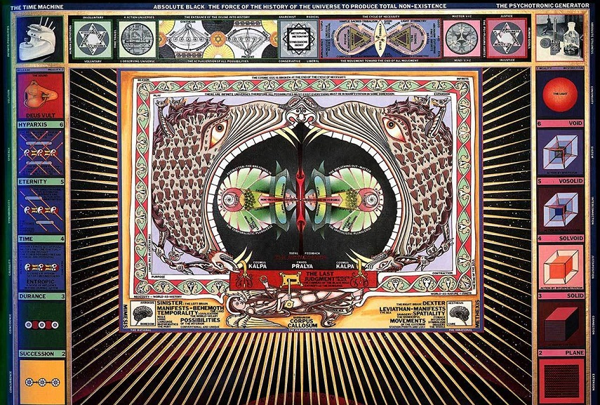 Paul Laffoley - Black Hole 2. Image via ultraculture.com