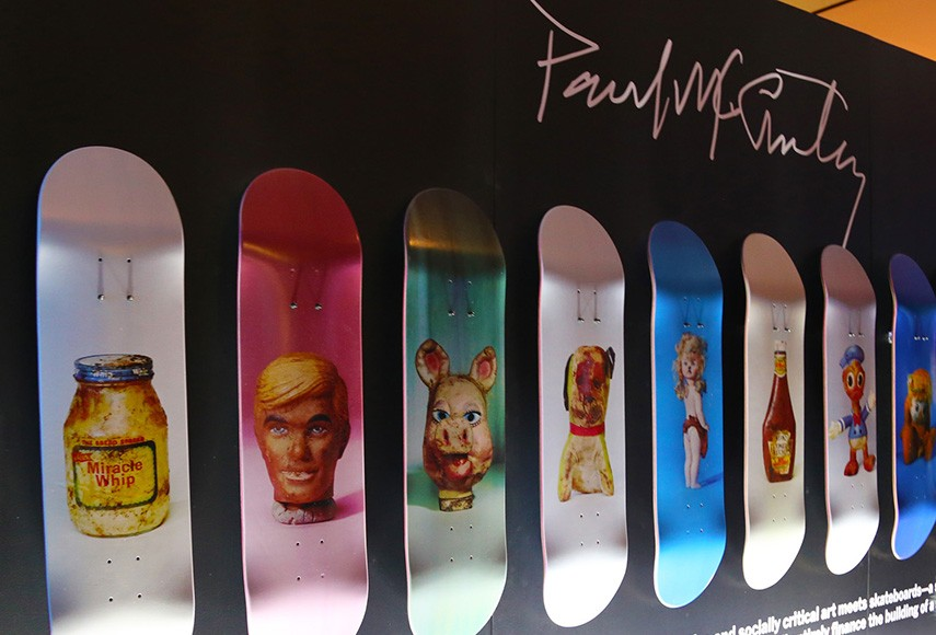 Paul McCarthy's Skateboards For Charity