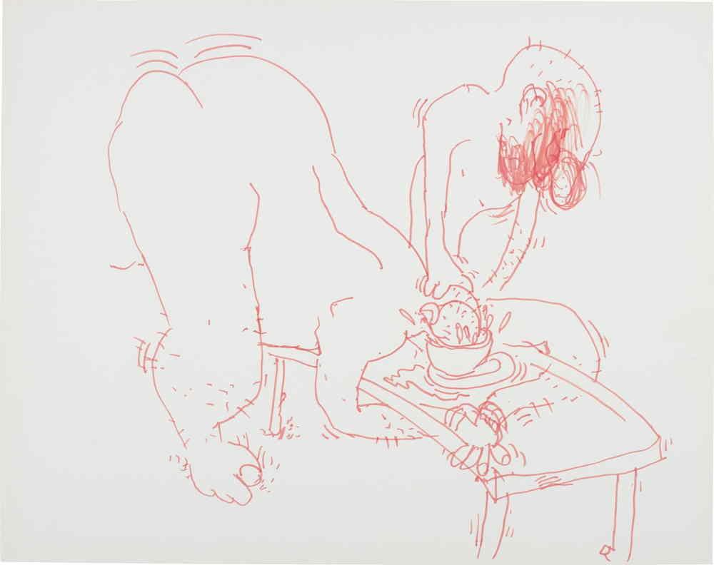 Paul McCarthy-Soup Bowl-1990