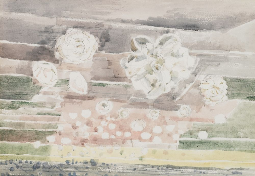 Paul Nash-Dawn Flowers-1944