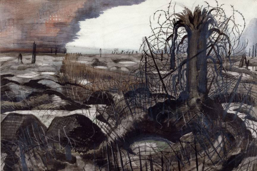 Paul Nash - Wire 1918-19