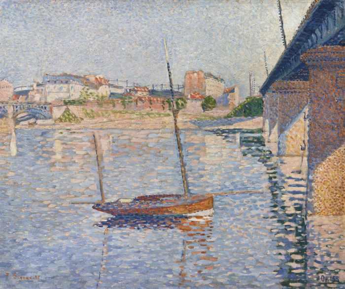 Paul Signac-Clipper-1887