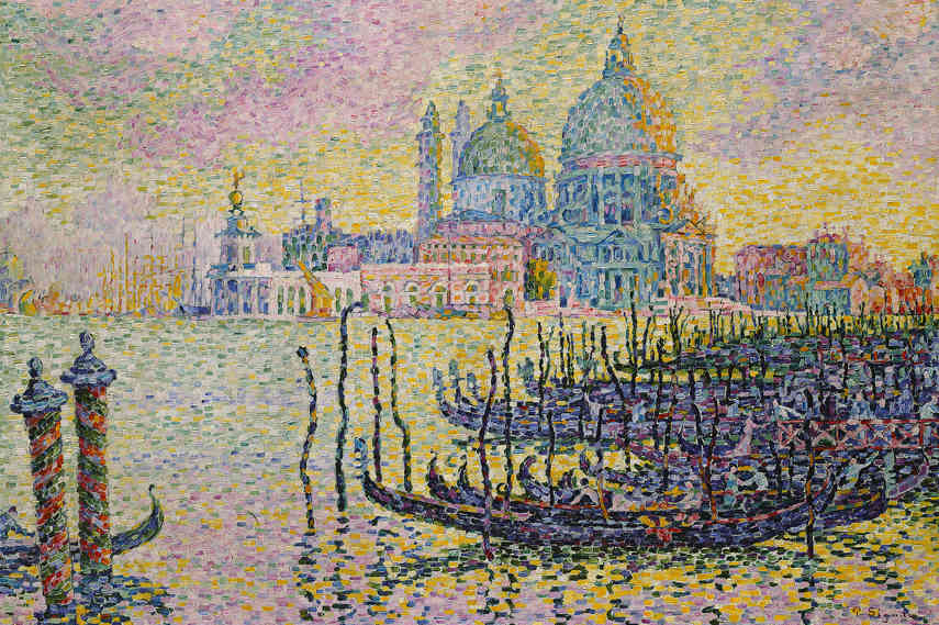 Great Pointillism artist Paul Signac