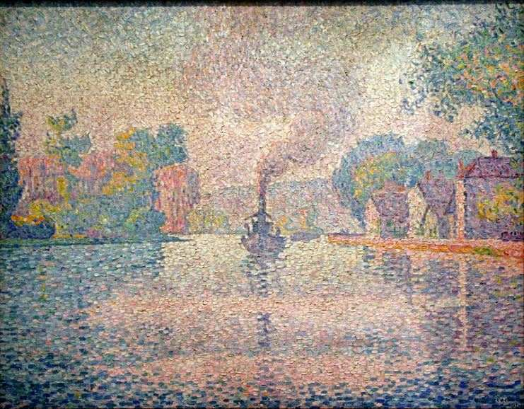 What is Pointillism in the painting by Paul Signac and other works
