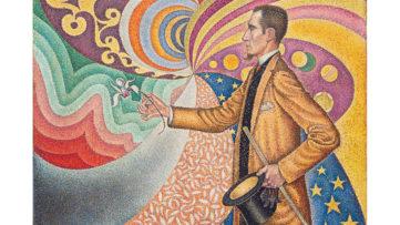 Paul Signac - Portrait of M. Félix Fénéon