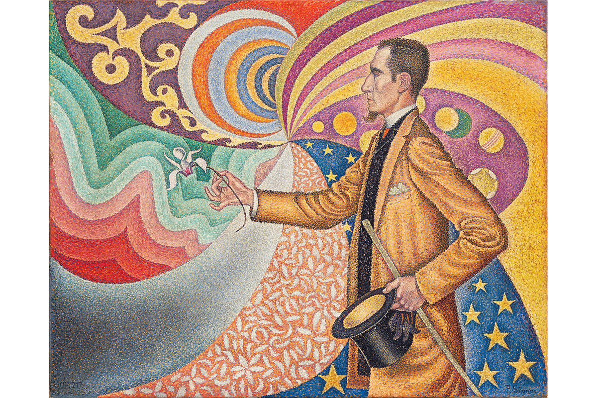 Paul Signac - Portrait of M. Félix Fénéon