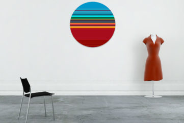 Art in a Circle For Your Collection