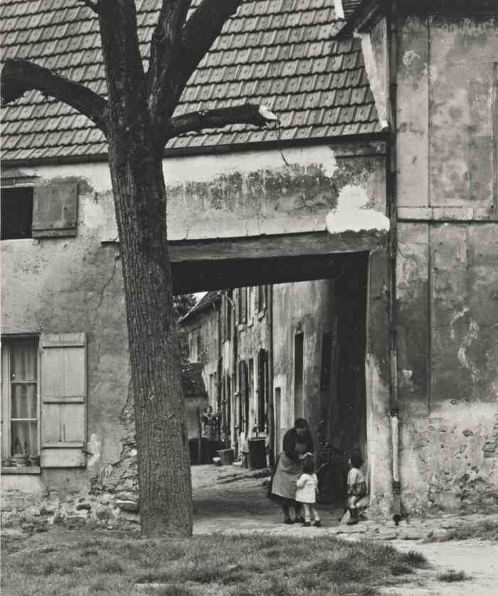 Paul Strand-Roissy Paris Environs France-1954