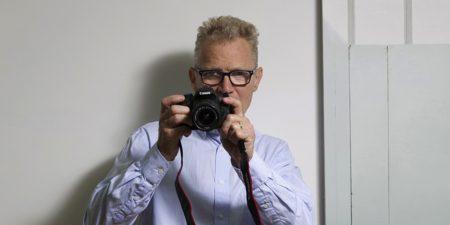 Paul Winstanley, photographed by Rémy Deluze