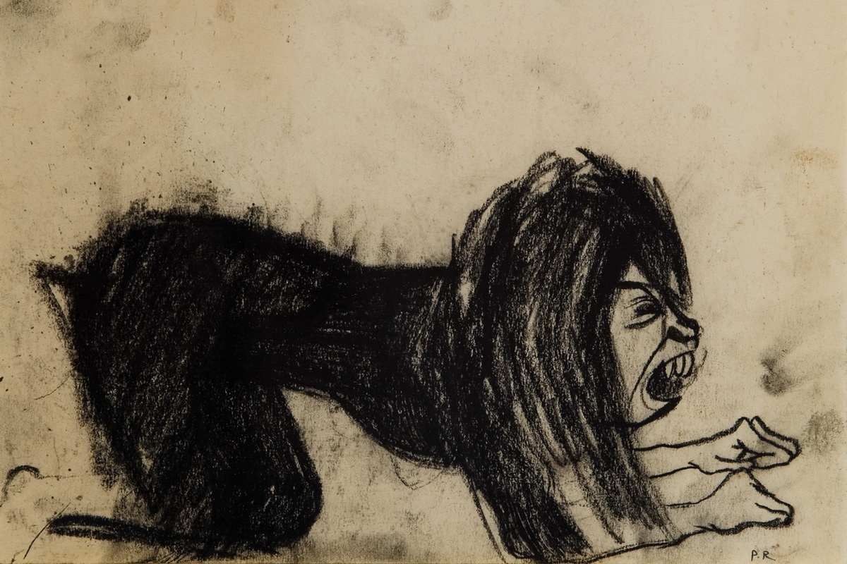 Paula Rego - Dog Woman