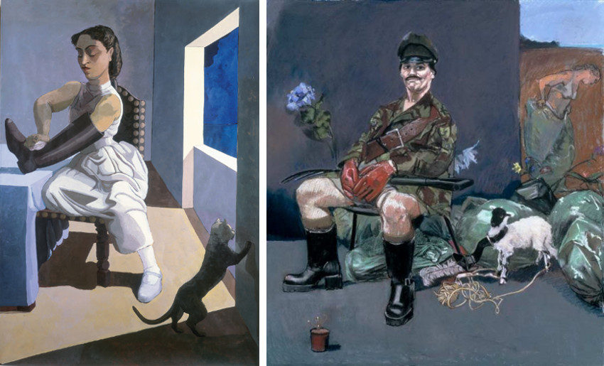 Paula Rego has a privacy terms art exhibition at london gallery marlborough