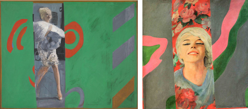 Pauline Boty took the gallery and exhibitions world by storm in 1966 due to her colorful work like The Only Blonde in the World (1963) and Colour Her Gone (1962)