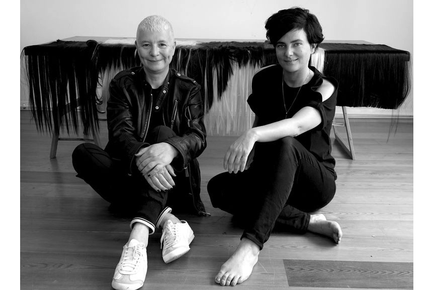 Pauline Boudry and Renate Lorenz. Photo by Bernadette Paassen