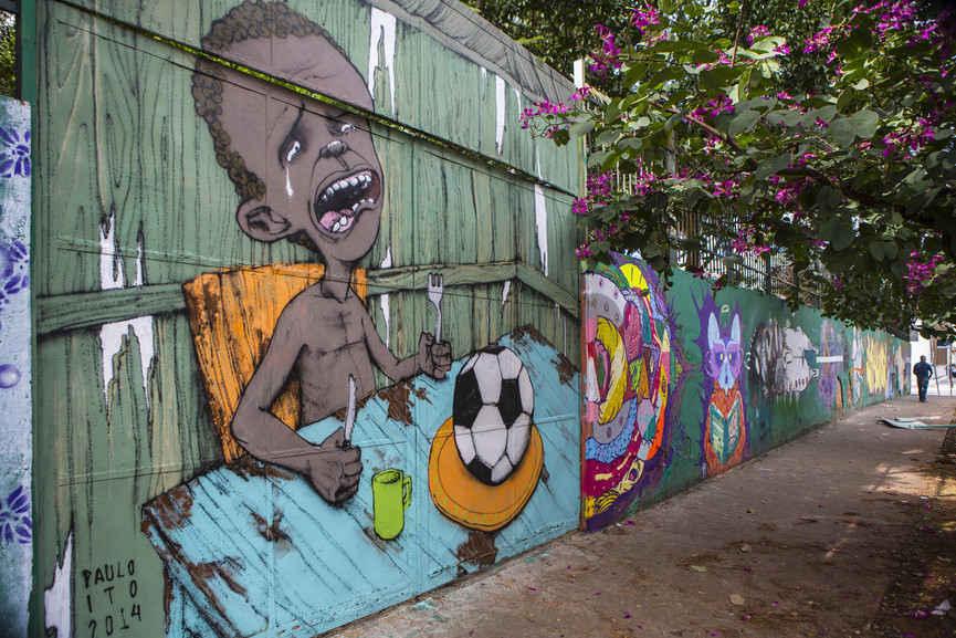 Paulo Ito Graffiti, Brazil