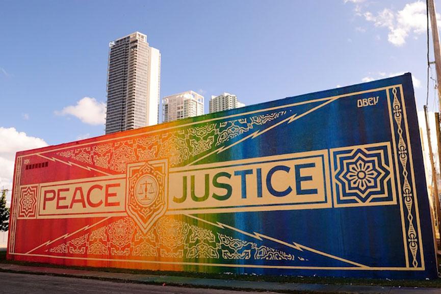 Mural in Miami