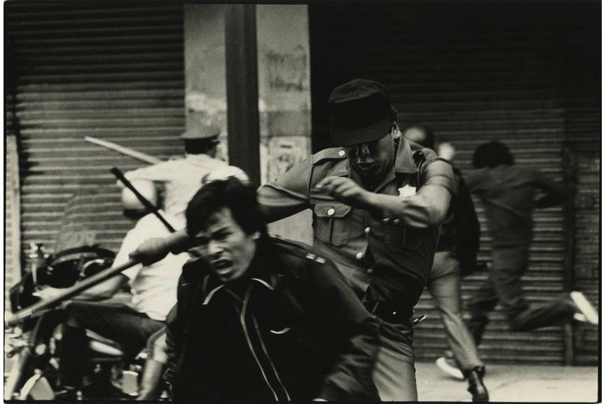 Pedro Valtierra - Maestros golpeados, 1984