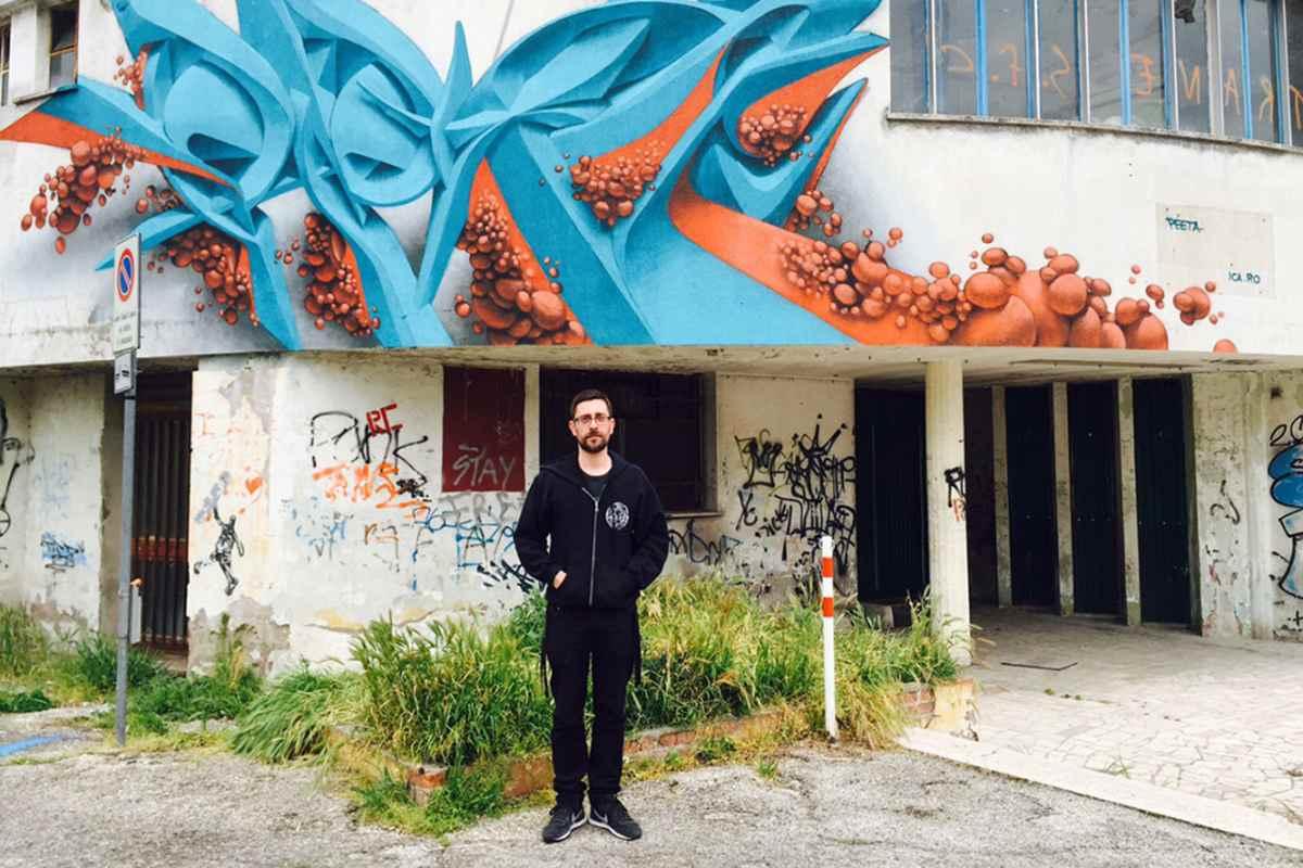 Peeta interview Italy graffiti sculpture painting