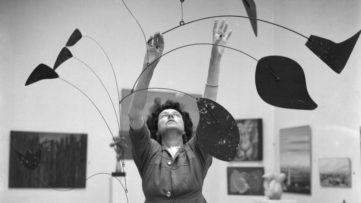 Peggy Guggenheim Alexander Calder Venice Biennale 1948