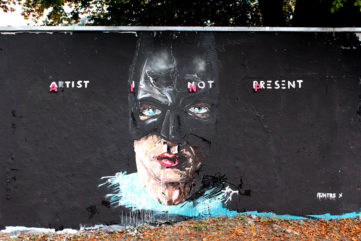When the Artist is Not There - Peintre X in an Exclusive Interview