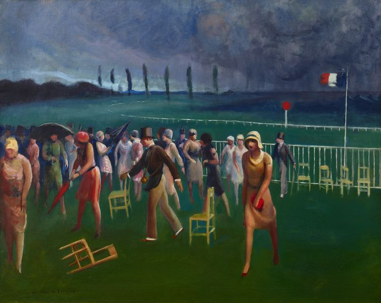 Pene du Bois - Approaching Storm, Racetrack