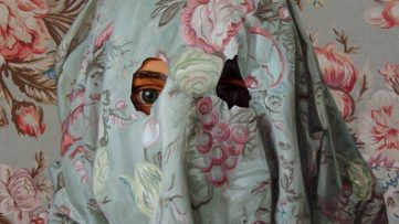Peter Adamyan - Camouflage Bouquet (detail)
