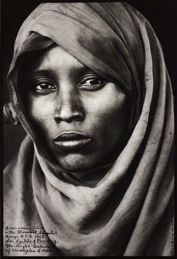 Peter Beard-Boran Woman, Marsabit Hospital, Kenya-1968