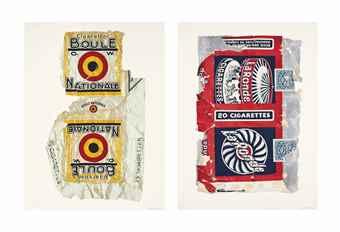 Peter Blake-Fag Packets Boule & La Ronde-2004