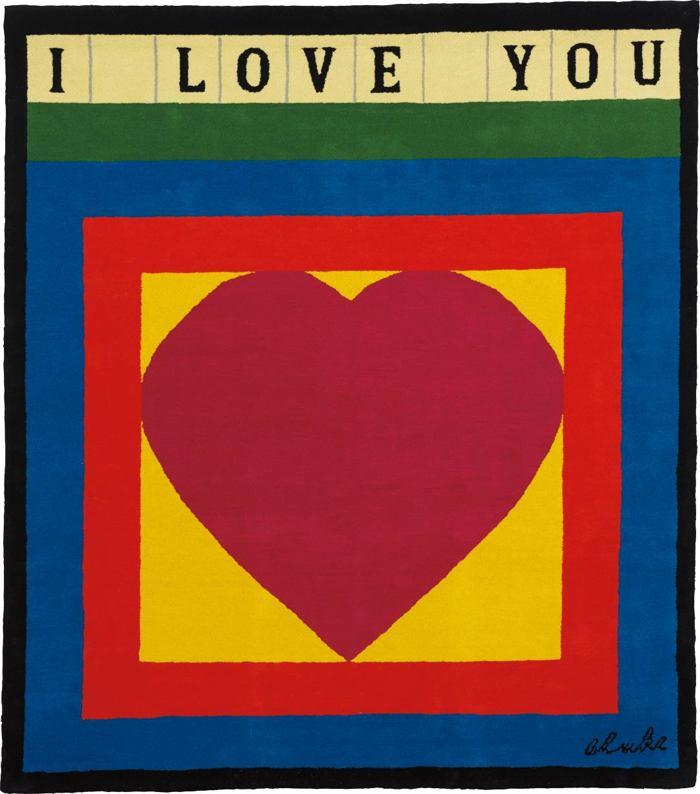 Peter Blake-I Love You-1982