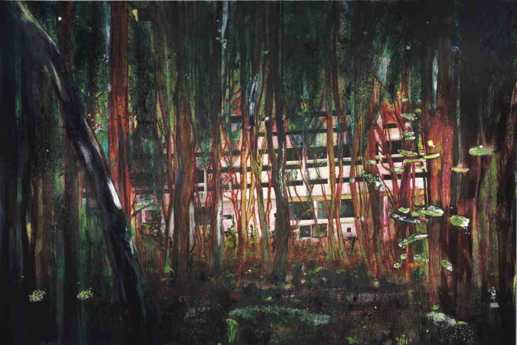 Peter Doig was featured in new york times and chicago gallery press 2016 regarding his court case